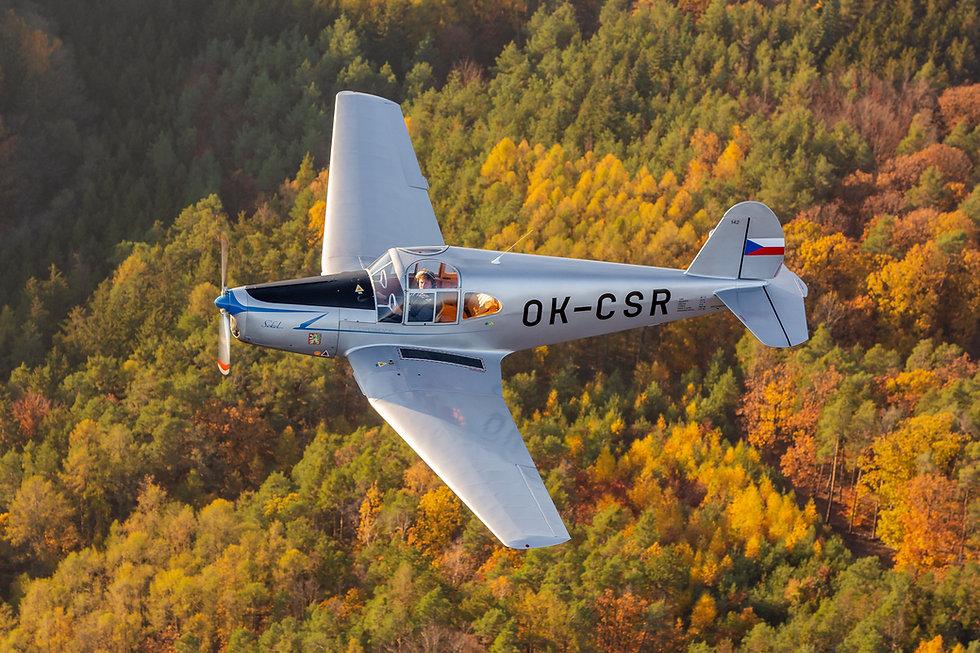 Sokol M-1C ve vzduchu