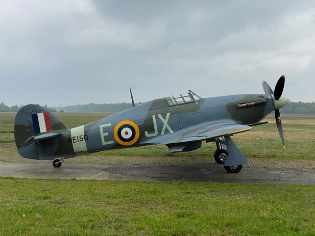 Hawker Hurricane ve zbarvení BE150