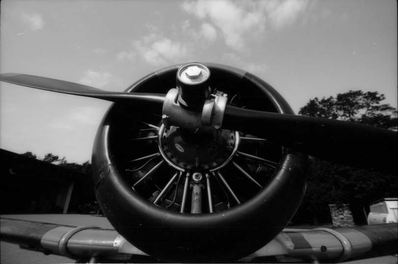AT-6C Harvard motor
