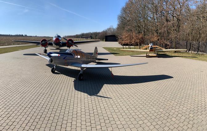 M1C Sokol, Electra a Avia BH1 na jarním slunci