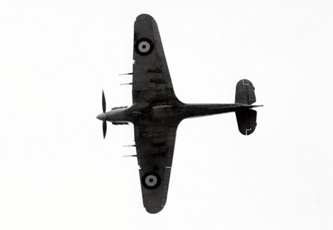 Historické fotky Hawker Hurricane