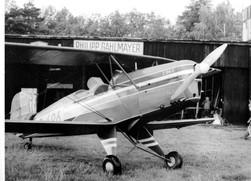 Avia C-104S při natáčení filmu Náhrdelník