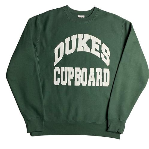 Dukes Cupboard College Sweatshirt (Forest Green)