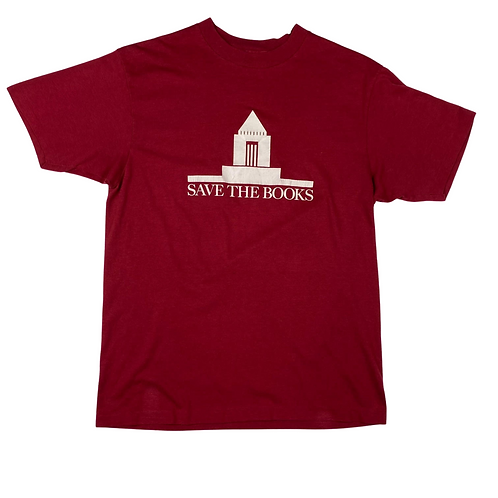 Vintage Save the Books T-Shirt