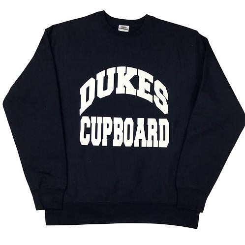 Dukes Cupboard College Sweatshirt Black