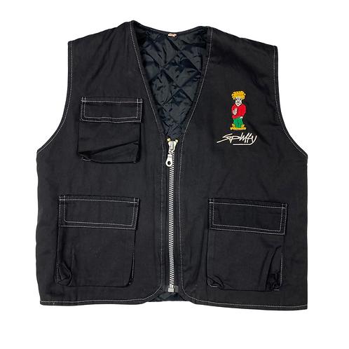 Vintage Spliffy Quilted Vest