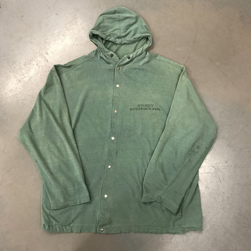 8b3471ea7197 Vintage 90 s Stüssy Hoodie. Good vintage condition - some faint marks to  the front. Size small - fits large.