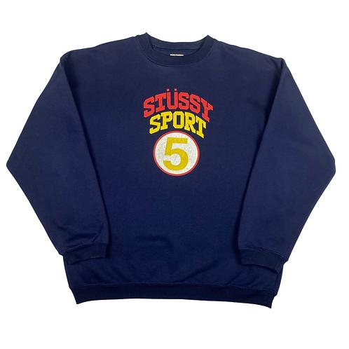Vintage Stussy Sport Sweatshirt