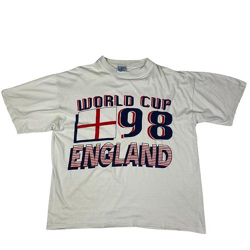 Vintage 1998 England World Cup Tee