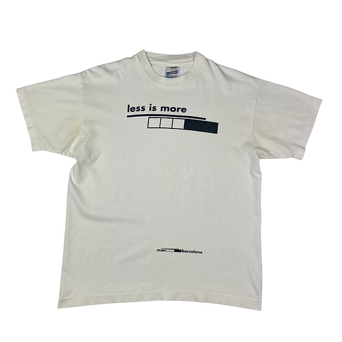 Vintage 'Less is More' Tee