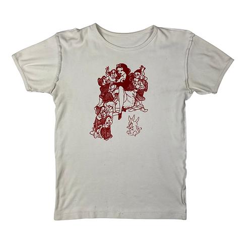 Vintage Seditionaries Snow White Graphic Tee