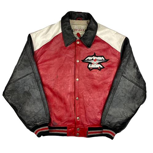Vintage Leather Avirex Jacket