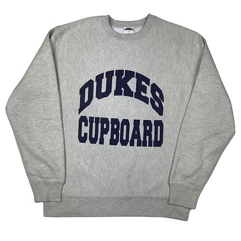 Dukes Cupboard College Sweatshirt Grey