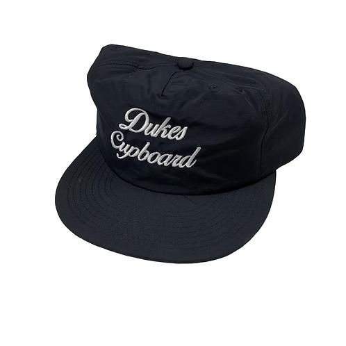 Dukes Cupboard Script Cap Navy/White