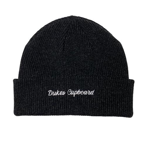 Dukes Cupboard Beanie (Charcoal Grey)