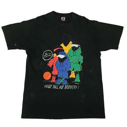 Vintage 'Shoot Ball, Not Brothers' Tee