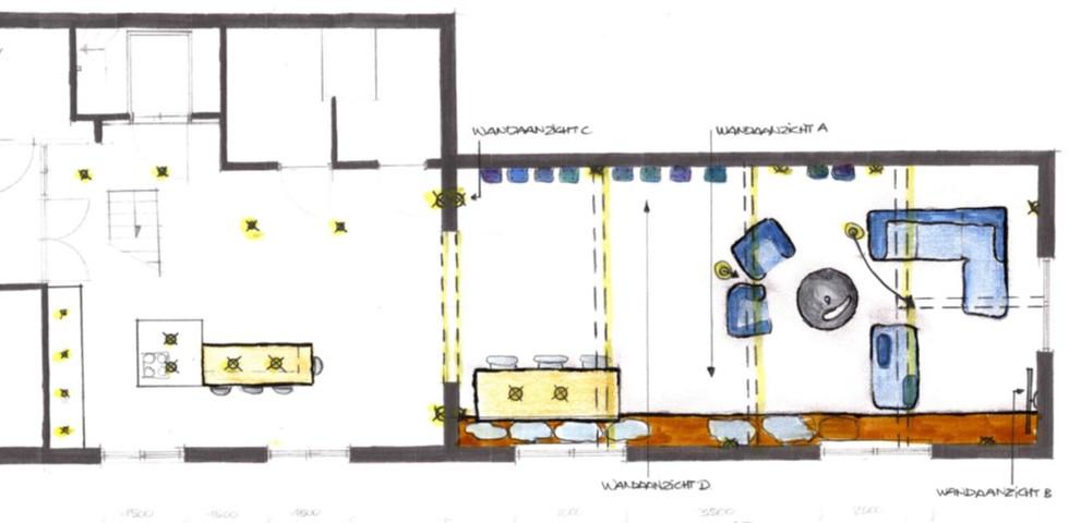 Lichtplan nieuw meubelplan