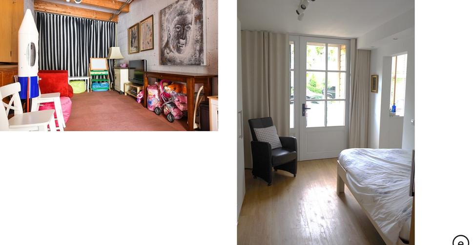 Rozendaal_garage slaapkamer
