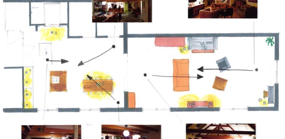 Lichtplan bestaande situatie