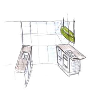 Perspectief 2 keuken