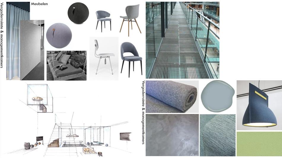 meubel en kleur/materiaal bord