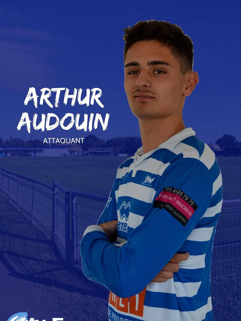 Arthur Audouin - Attaquant