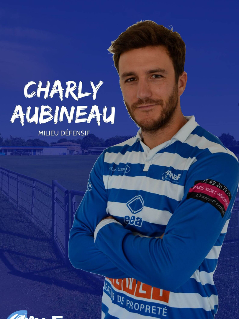 Charly Aubineau - Milieu défensif