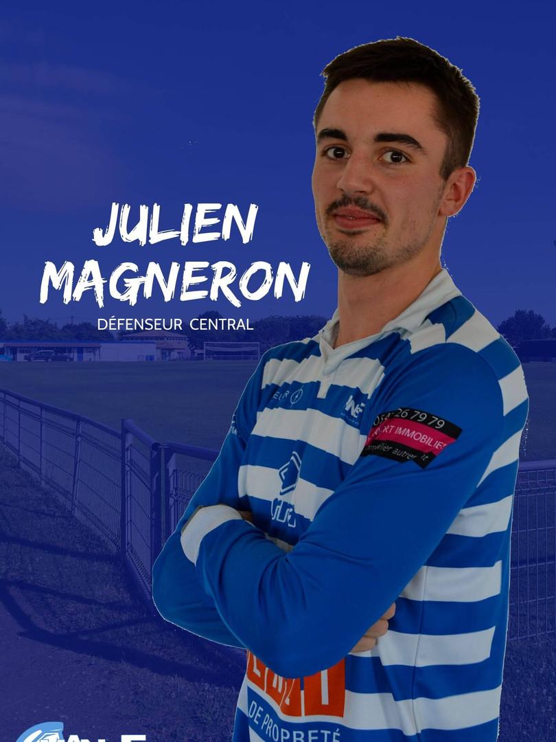 Julien Magneron - Défenseur central