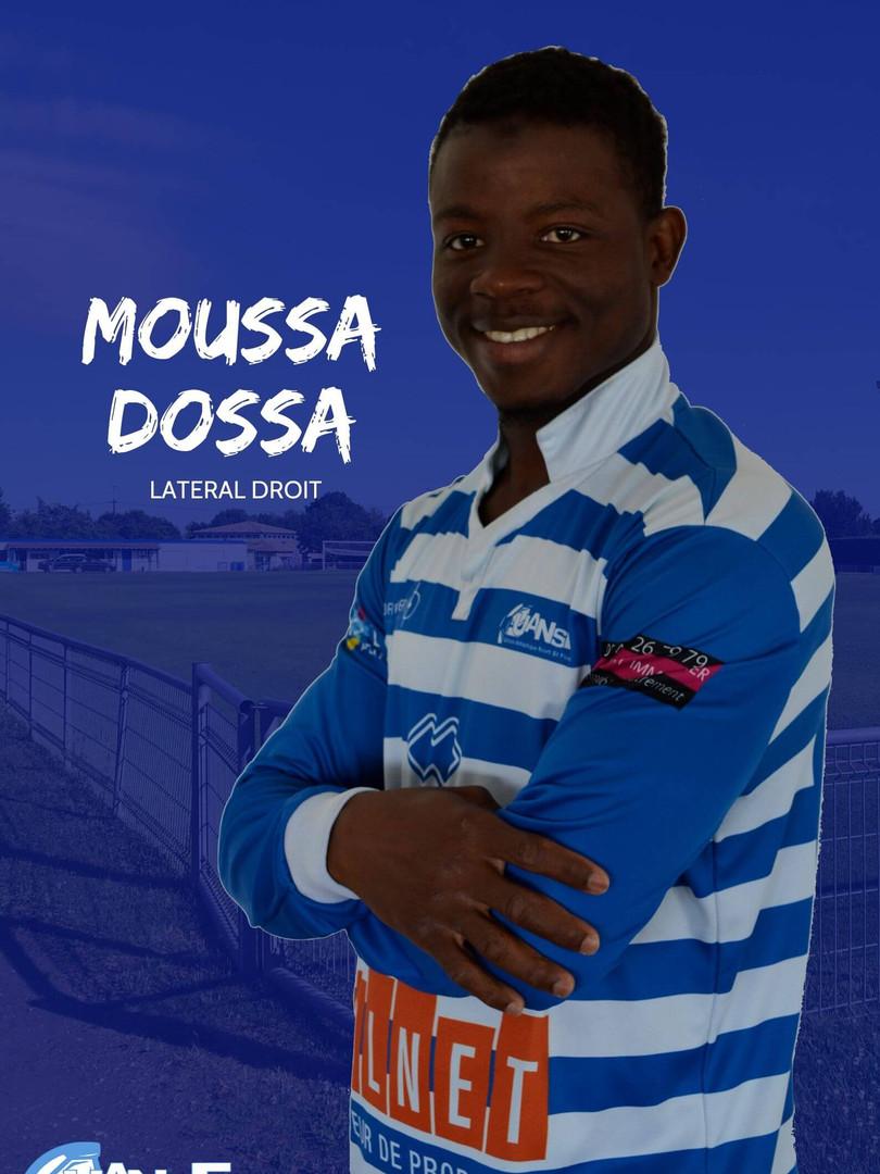 Moussa Dosso - Latéral Droit