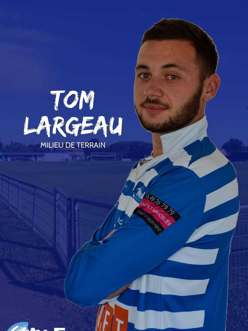 Tom Largeau - Milieu de terrain