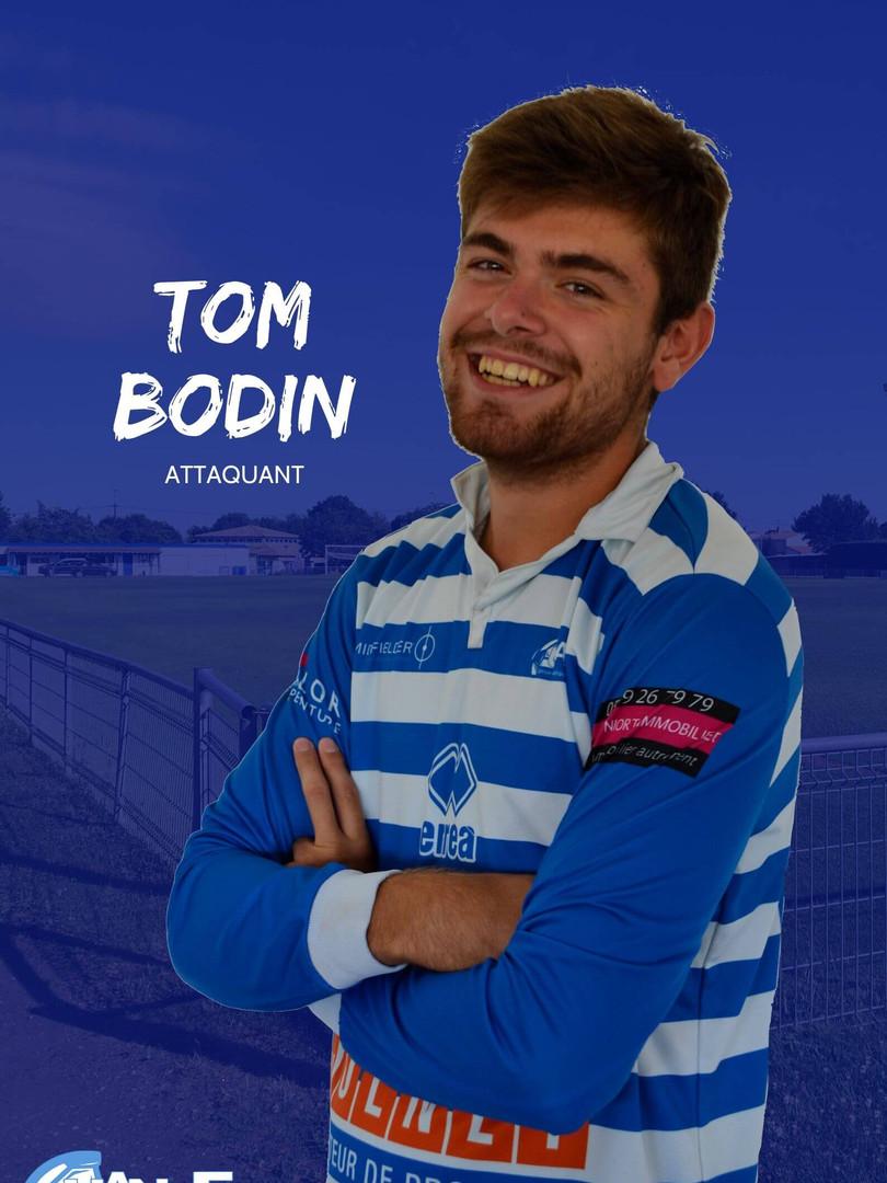 Tom Bodin - Attaquant
