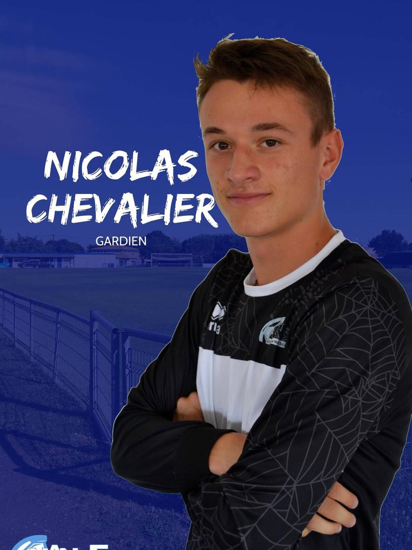 Nicolas Chevalier - Gardien