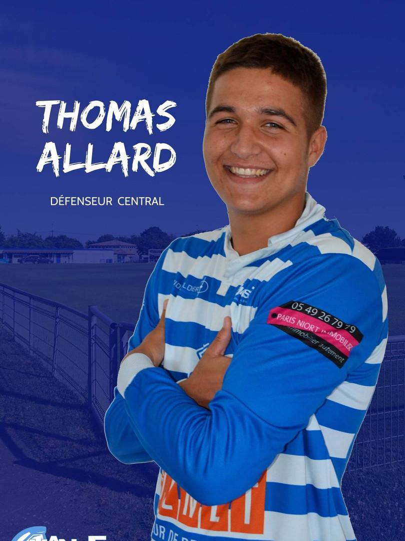 Thomas Allard - Défenseur central