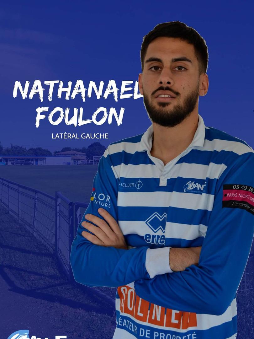 Nathanael Foulon - Latéral droit