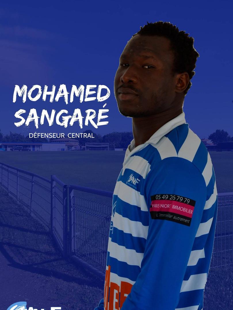 Mohamed Sangaré - Défenseur central