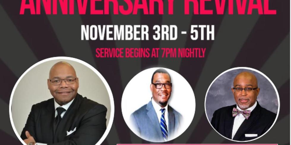 Virtual Church Anniversary Revival