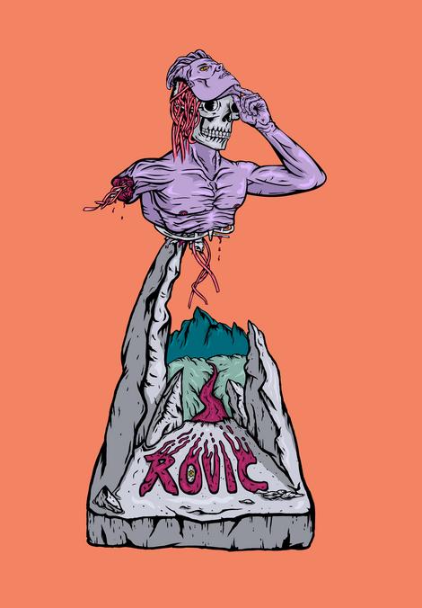 Graven Core- Full Rovic Graphic