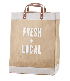 "Market Tote - ""Fresh and Local"""