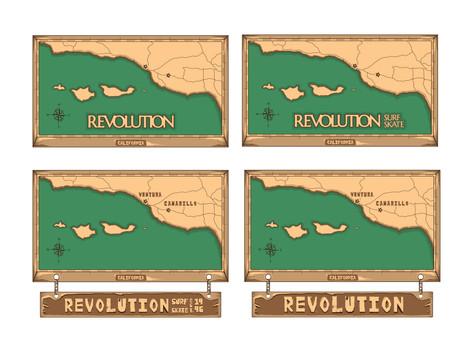 Revolution Minimal Map