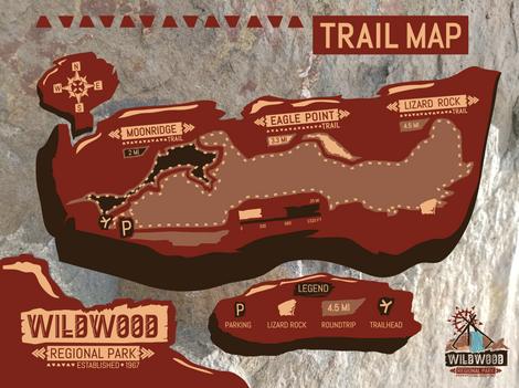 Wildwood Regional Park Trail Map