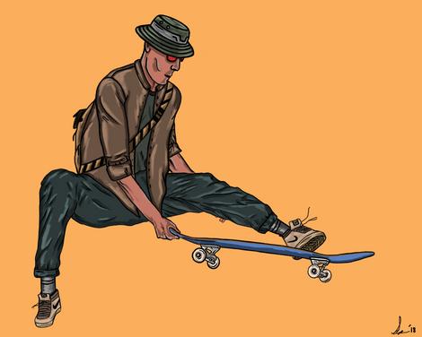 Skater: Cad Bane