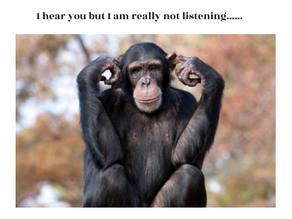 Hearing vs. Listening