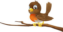 Robin CHIRP bird on a branch.jpg