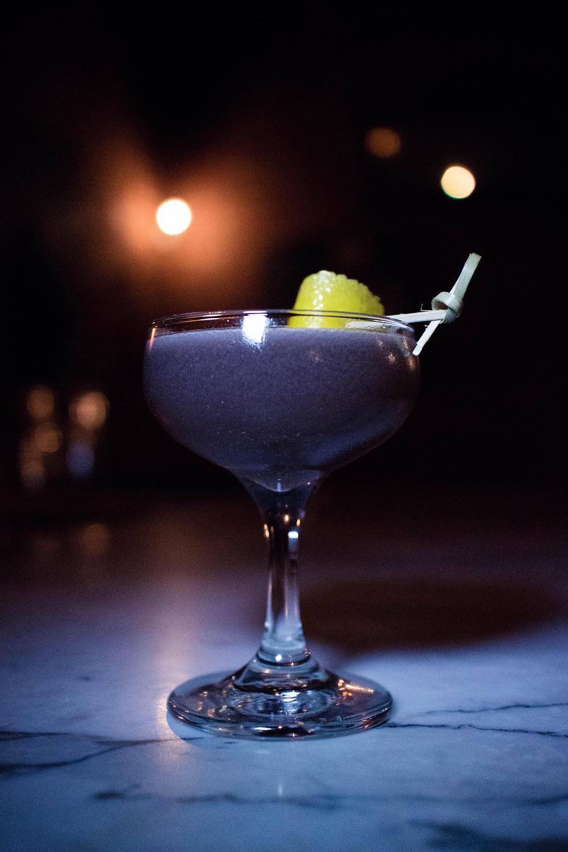 "Purple Rain Wayofthewong Bourbon Purple cocktail carrot Colors Cheers ""Yum City"" orgeat drinks"