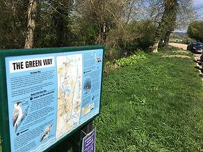 The Green Way via Cookham Moor