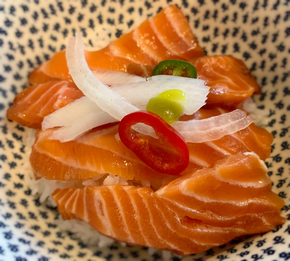 Fermented Marinated-Soy sauce Salmon