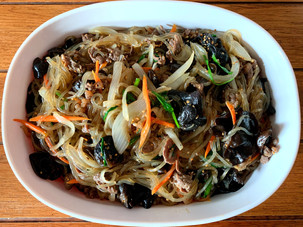 Sweet and Savory Authentic Japchae