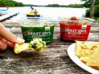 Chips and Crazy Joe's Fresh Mild & Spicy Salsa,The Perfect Chip Dip