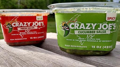 Crazy Joe's Fresh Mild & Spicy Salsas