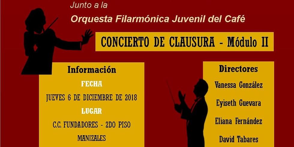 CONCIERTO DIPLOMADO INTERNACIONAL DE DIRECCIÓN
